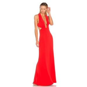 NBD Yani Gown in Red Size XS